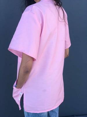 Medical scrubs for sale - Bubblegum Pink BACK